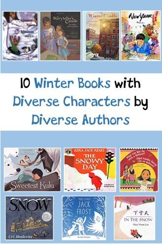 winter books diverse