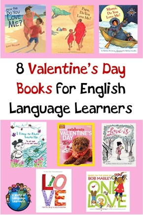 valentine books for ELLs