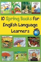 10 Spring books for ELLs