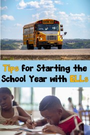 Tips for Starting the School Year with ELLs