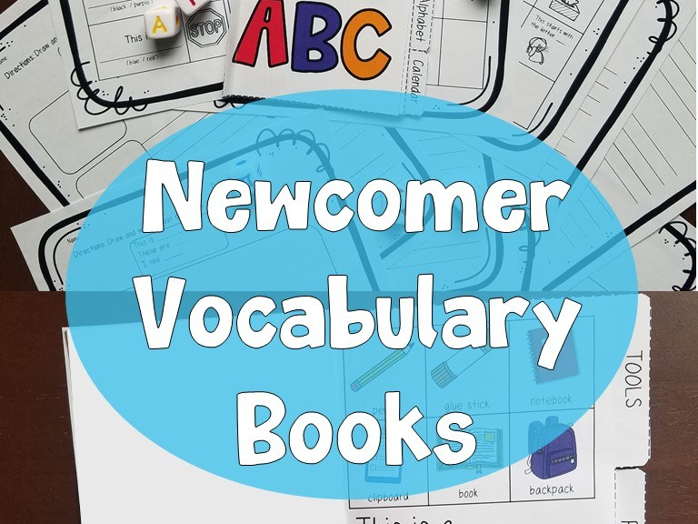 newcomer vocabulary book