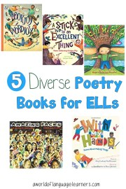 5 Diverse Poetry Books for ELLs