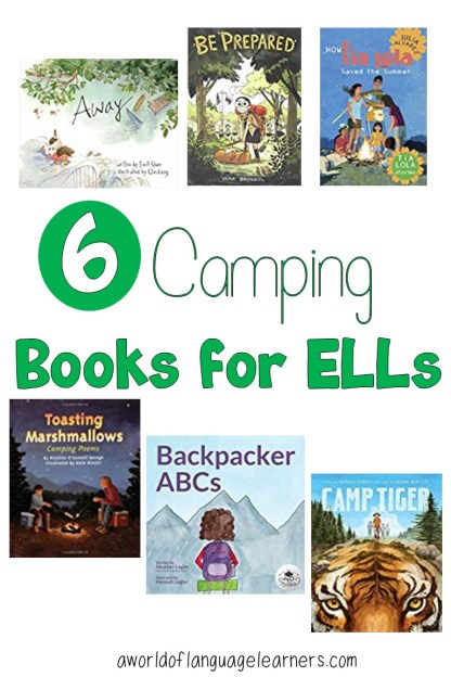 6 Camping Books for ELLs
