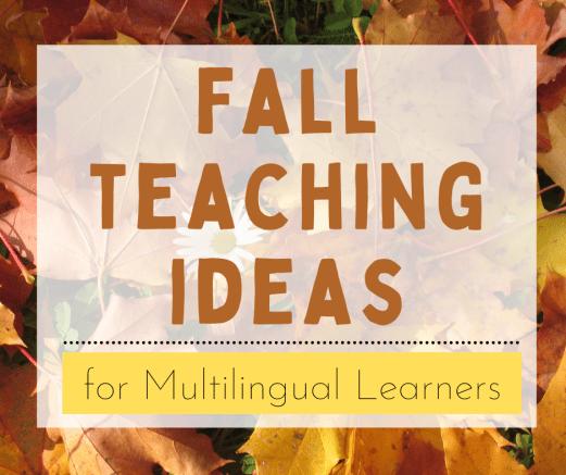 fall teaching ideas