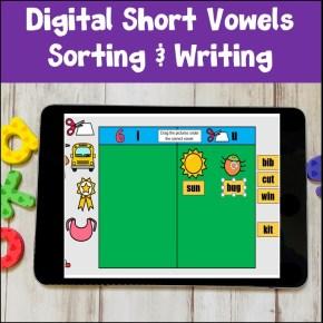 digital word sorts