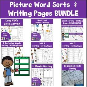 word sorts bundle