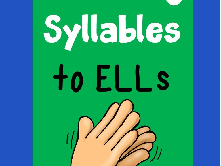 teaching syllables to ELLs