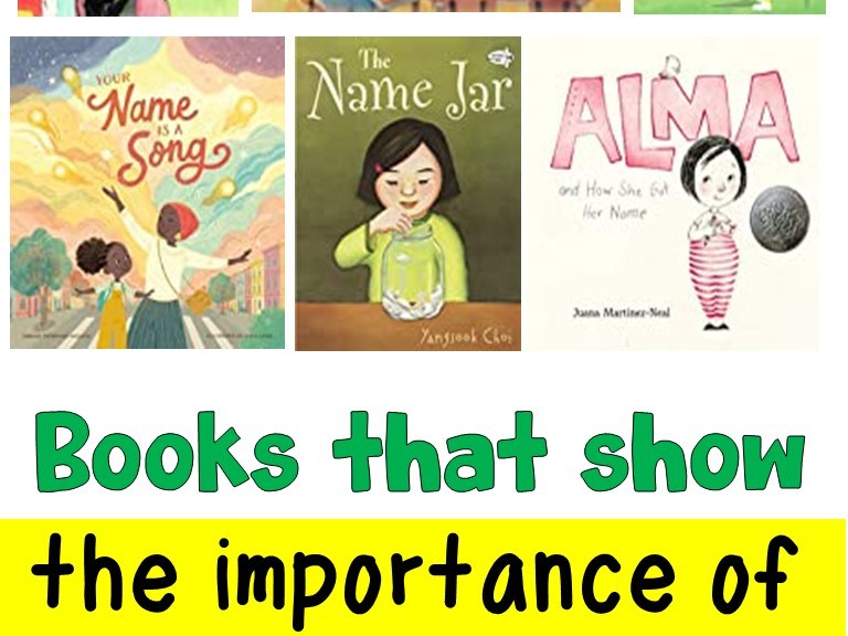 Books that show the importance of a name