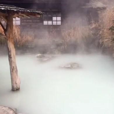 best hot spring hotels in shirakawa