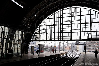 If you are like us, you will fall for Berlin train stations.