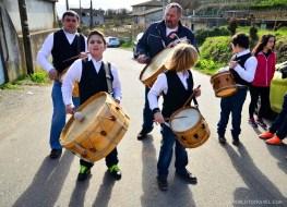 Local band in Cobres, Pontevedra