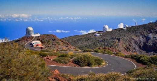 La Palma observatory.