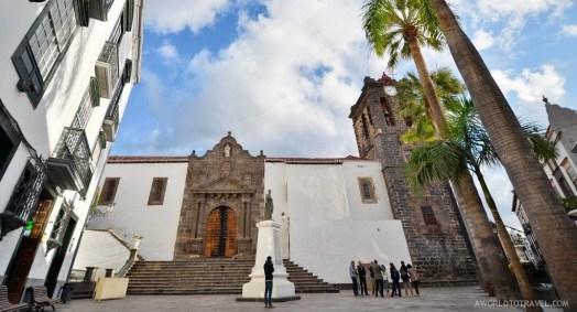 One of Santa Cruz's main squares, La Palma.