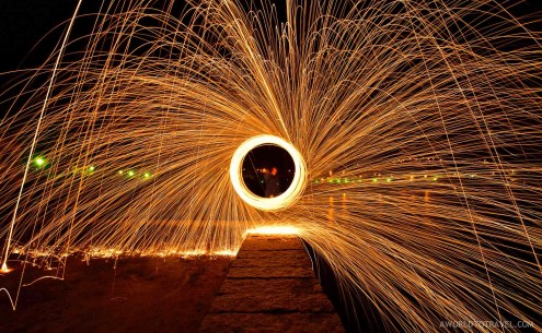 Steel wool phography tutorial-A World to Travel-2