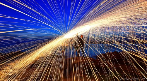 Steel wool phography tutorial-A World to Travel-3