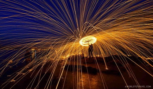 Steel wool phography tutorial- A World to Travel-8