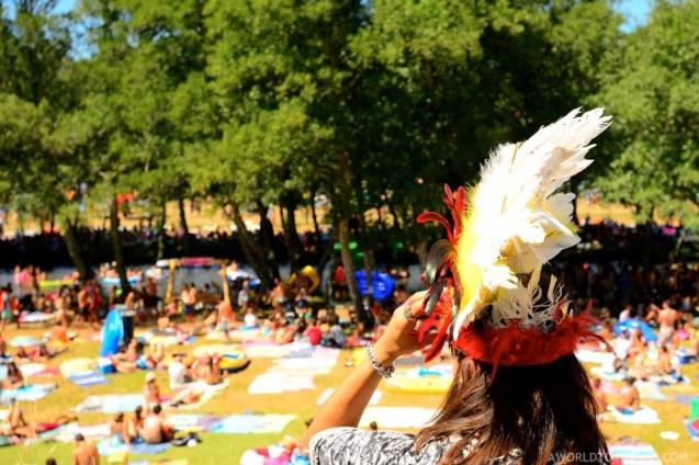 Vodafone Paredes de Coura 2015 music festival - Taboao river beach - A World to Travel-32