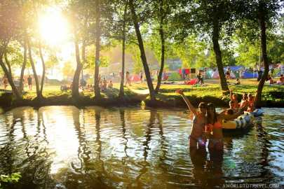 Vodafone Paredes de Coura 2015 music festival - Taboao river beach - A World to Travel-34