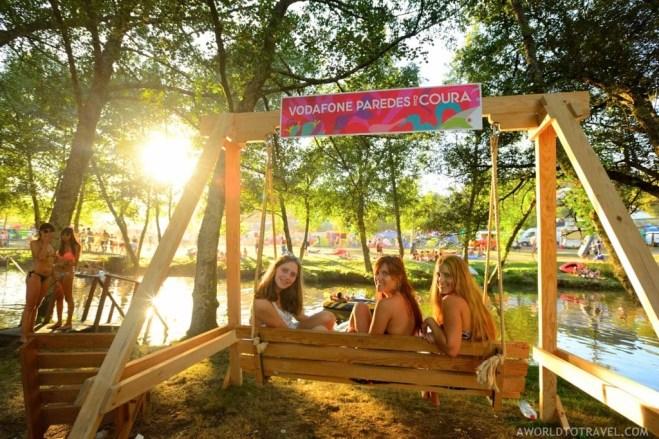 Vodafone Paredes de Coura 2015 music festival - Taboao river beach - A World to Travel-35