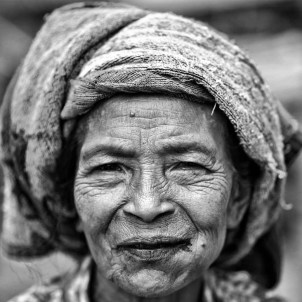 Time tales. After attending a Caci Traditional Performance at Melo village yesterday, we met her. She and her community invited us to their home and everyone was very welcoming and friendly with us. In Labuan Bajo, Flores.
