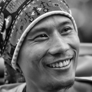 Yogyakarta's smiles.