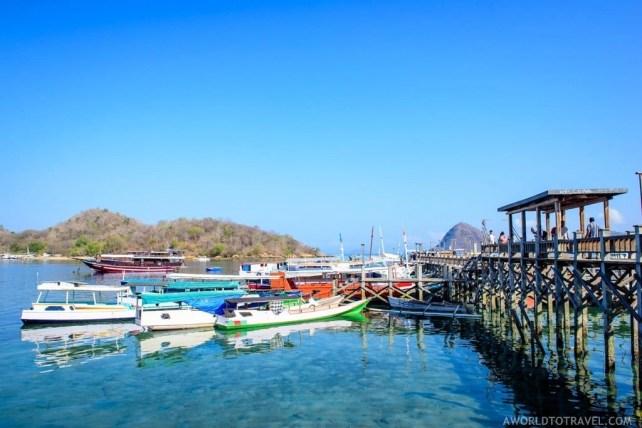 Labuan Bajo pier, West Flores Island. Indonesia