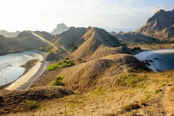 Pulau Padar, Komodo National Park, Indonesia.
