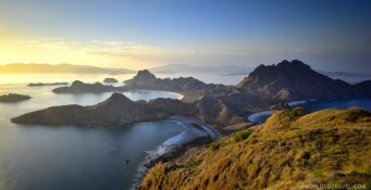 Pulau Padar, Komodo National Park, Indonesia.