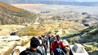 Exploring Mount Bromo - Java Island - Indonesia - A World to Travel-49