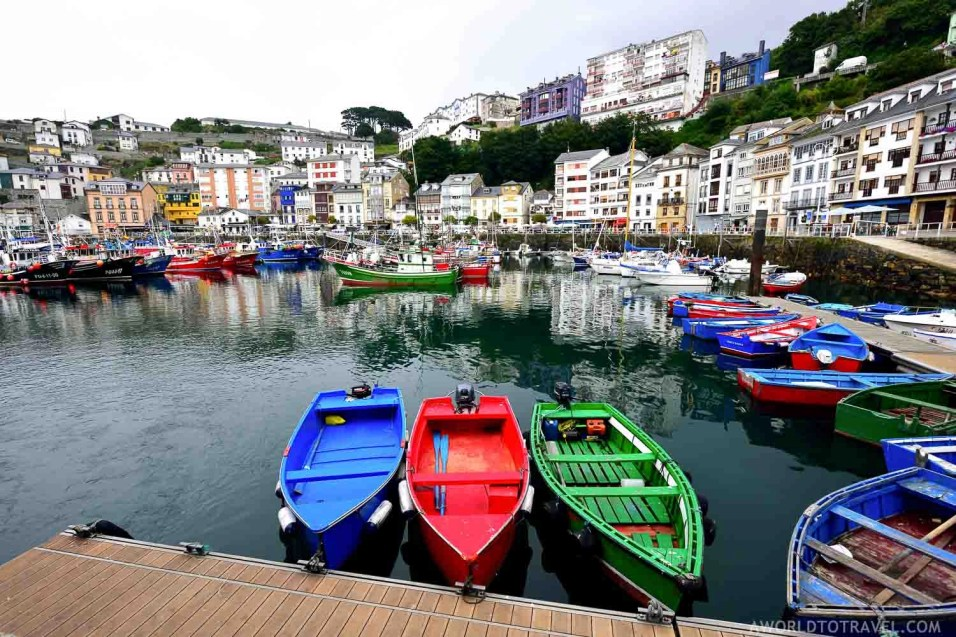 Luarca marina - Asturias - A World to Travel