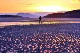 Testal beach - Noia Galicia at sunset - A World to Travel