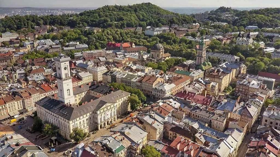 Lviv Aerial - Ukraine - The Hidden Summer Gem Of Europe - A World to Travel