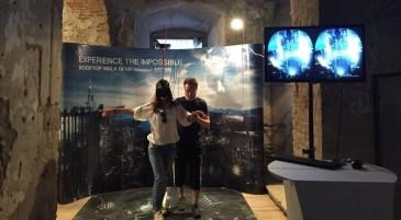 VR simulator 2 - Electric Castle Festival – Romania's Best Kept Secret - A World to Travel