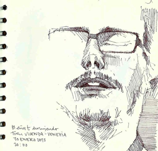 Travel Sketching Around The World With Blanca Escrigas - A World to Travel (2)
