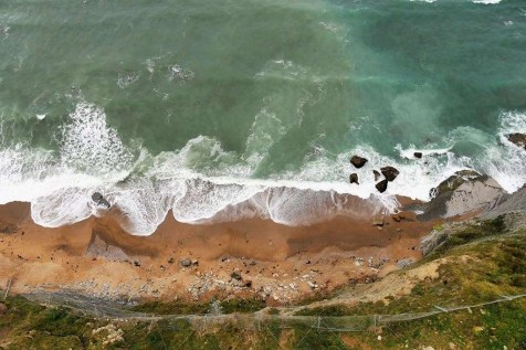 4. Paraglide over Gijon cliffs - Fun Things To Do In Gijon Rain or Shine - A World to Travel (9)