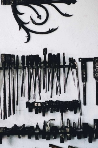 Blacksmith tools - Visit Covasna County A Stunning Land of Mansions in the Romanian Transylvania - A World to Travel