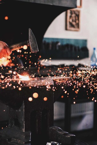 Blacksmith working - Visit Covasna County A Stunning Land of Mansions in the Romanian Transylvania - A World to Travel