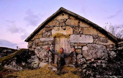 Eiras da Laje at sunset - Cinfaes - Montanhas Magicas Road Trip - Portugal - A World to Travel