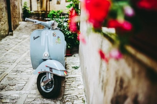 Vespa in Erice - A Guide to the Top Attractions in Sicily - A World to Travel
