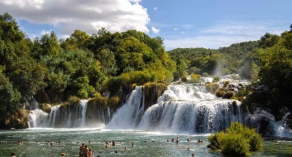 Krka falls - 10 Day Croatia Itinerary From Dubrovnik to Zagreb - A World to Travel
