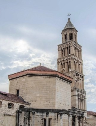 Split church - 10 Day Croatia Itinerary From Dubrovnik to Zagreb - A World to Travel