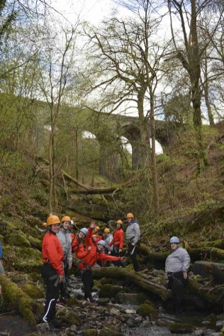 Gorge Scrambling - South Wales Glamping Hidden Valley Yurts Review - A World to Travel