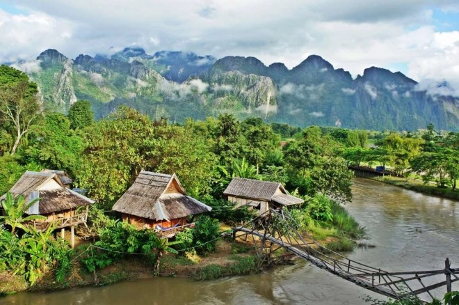 Van Vieng - Best Places To Visit And Things To Do In Laos - A World to Travel