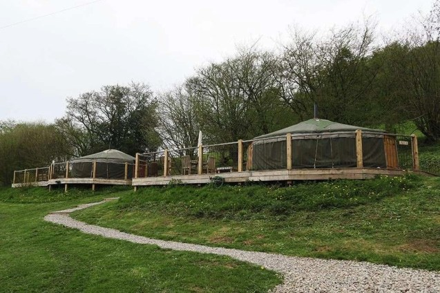 Yurt 4 - South Wales Glamping Hidden Valley Yurts Review - A World to Travel