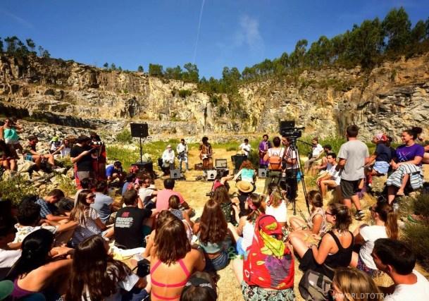 Imarhan Vodafone Music Sessions - Paredes de Coura festival 2018 - A World to Travel (2)