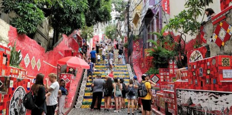 Selarón Steps - Rio de Janeiro - Here's How To Road Trip 5 Brazilian Cities In Two Weeks - A World to Travel