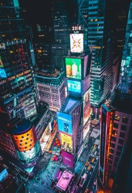 Times Square - Perfect 2 Days In New York Itinerary For First Time Visitors - A World to Travel