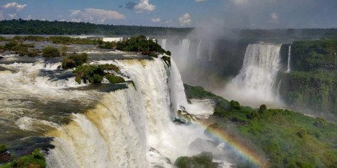 View from the Gift Shop of Cataratas do Iguaçu - Foz do Iguaçu - Here's How To Road Trip 5 Brazilian Cities In Two Weeks - A World to Travel