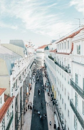 Baixa - Things To Do In Lisbon in 72 Hours - A World to Travel