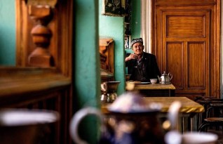 Chinese man - China - Silk Road Travel - A Central Asia Overland Trip - A World to Travel